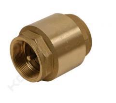 PVC клапан обратный ф63 (односторонний с пружиной)