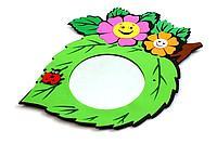 Зеркало настенное детское  Цветы
