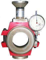 The device for test of samples of asphalt concrete