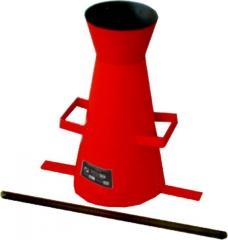Standard cone for a tsementobeton of KS