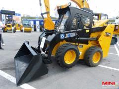 De los mini-cargadores XCMG XT 750