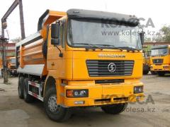 "SHACMAN SX3251DR384 dump truck Body of ""U"" figurative"
