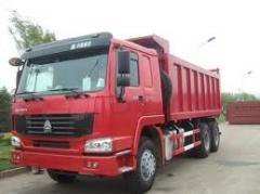 HOWO (XOBO) 40 dump trucks tn