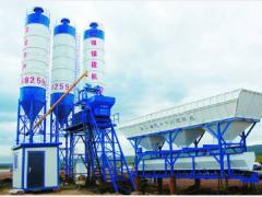 Stationary concrete plant HZS35