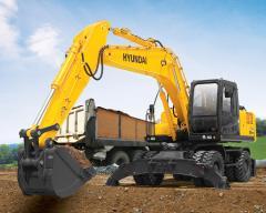 Excavator wheel HYUNDAI R210W-7