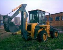 La excavadora-cargador XCMG WZ30-25