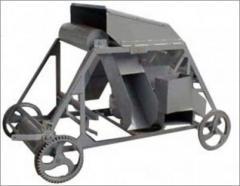 The cart the dumping (unloading) TSZ-500