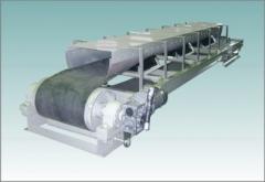 Conveyor tape roller channeled UKR-02
