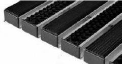 Antisplash door lattices of Step rubber + textiles