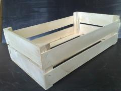Wooden boxes for frui