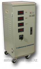 Voltage stabilizer three-phase SVC - 6000/3