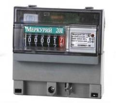 Счетчики электро энергии Меркурий 201,5