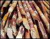 The cane sugar which is packed up
