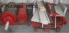 Component parts to the conveyor equipmen