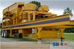 Mobile crusher for SHIBANG building wastes