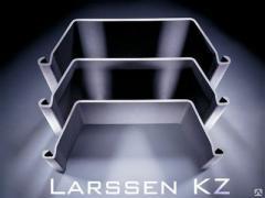 Metal groove - LARSSEN 600 (Larsen) pr-in Germany