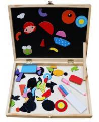 Чудо-чемоданчик, фигурки на магнитах, доска для