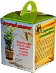 Substrate component for houseplants