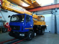 Автокран Ивановец 16 тонн на шасси Маз в Атырау