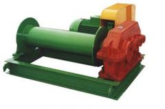 Assembly electric winches