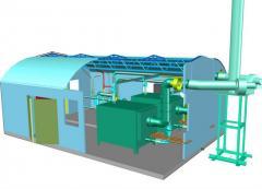 Modular boiler (MKU)
