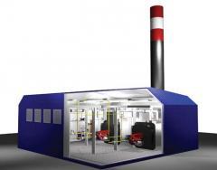 Modular boiler rooms
