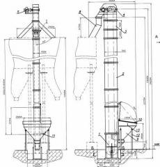 Элеватор ковшовый ленточный Л-250