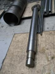 The chromeplated rods for hydraulic cylinders