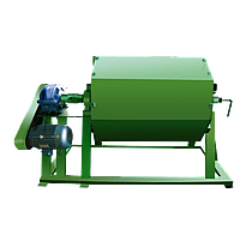 The machine for production of decorative pebble