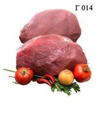 Мясо говяжье. Оковалок зачищенный.