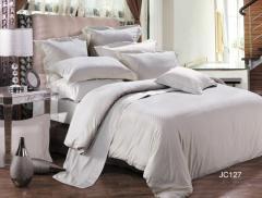 Комплекты постельного белья: 2-хспальные, 1,5