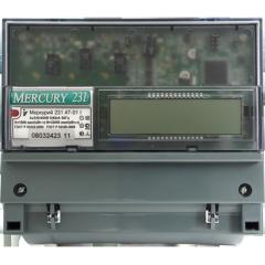 Меркурий 231 АT – 01 СЧЁТЧИК ЭЛЕКТРИЧЕСКОЙ ЭНЕРГИИ
