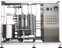 Installations are pasteurization and cooling