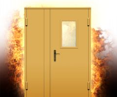 Doors are fire-prevention