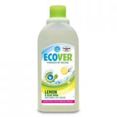 Ecological liquid for washing of ware with a lemon