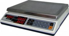 Electronic packing scales, Scales of