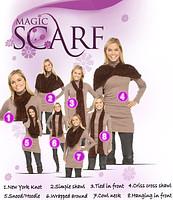 Шарф трансформер - Magic scarf ( производство