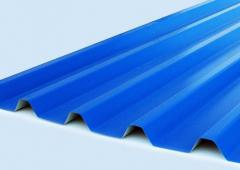 The professional sheet S-44 galvanized painted