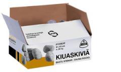 Stones for furnaces-kamenok a box of 20 kg