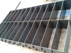 Металические формы для заливки пенобетонной смеси