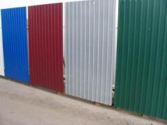 The panel front galvanized painted (Jean-thane-TV)