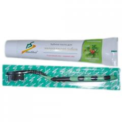 Complex for strengthening of teeth (toothpaste and