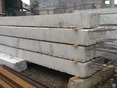 Monolithic belt, reinforced concrete beam