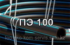 Pipes polyethylene under the order pe100