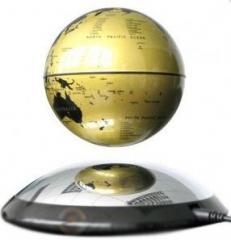 Парящий глобус 10см (золотой)