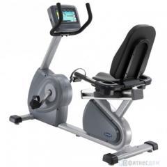 Горизонтальный велотренажер CIRCLE Fitness с LCD дисплеем R-7000E