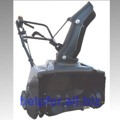 Electric Helpfer KCE18-A snowplow. To buy the snow