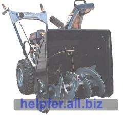 The Helpfer KCM21 A snow blower is self-propelled.