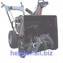 Helpfer KCM21 snow blower. The equipment road in