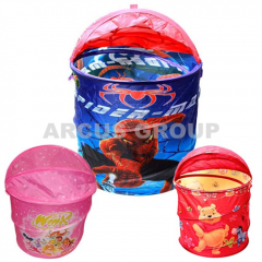 Baskets for toys with a cover. Size: 45*50sm. 13